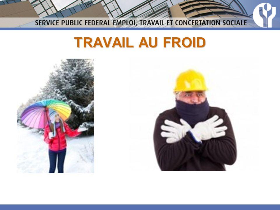 TRAVAIL AU FROID