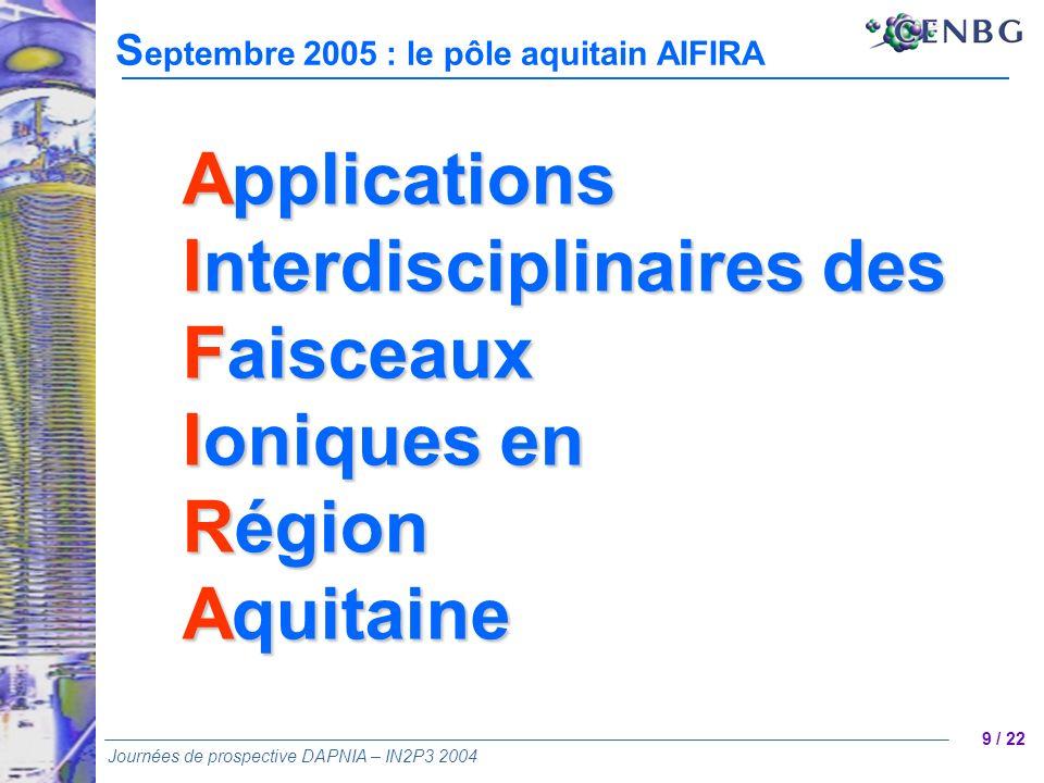 Interdisciplinaires des Faisceaux Ioniques en Région Aquitaine
