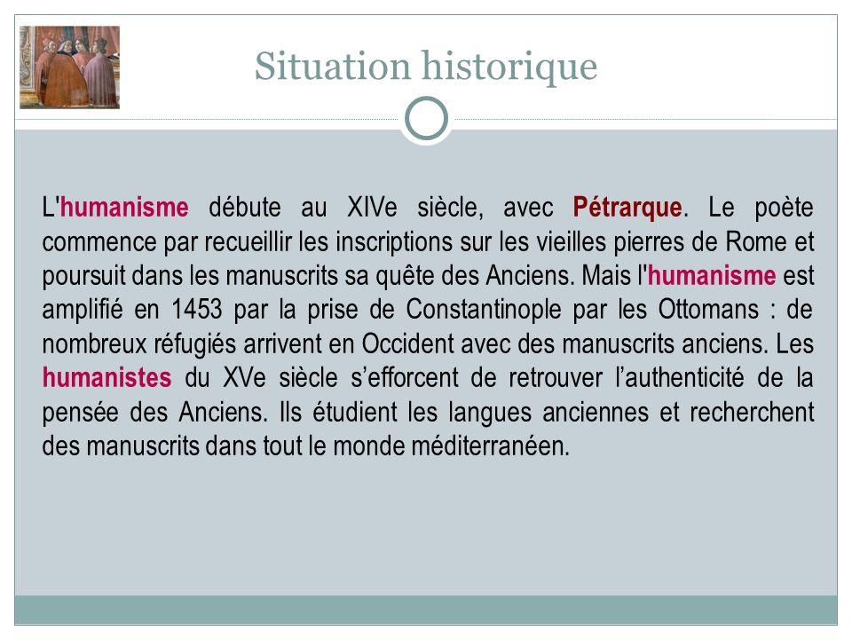Situation historique