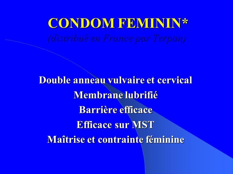 CONDOM FEMININ* (distribué en France par Terpan)