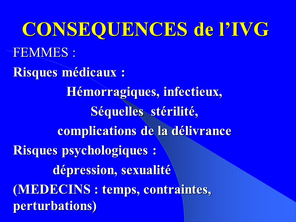 Hémorragiques, infectieux, complications de la délivrance