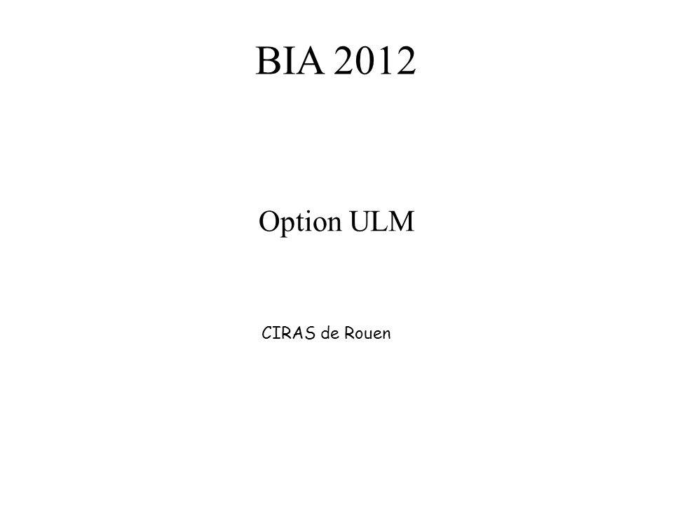 BIA 2012 Option ULM CIRAS de Rouen