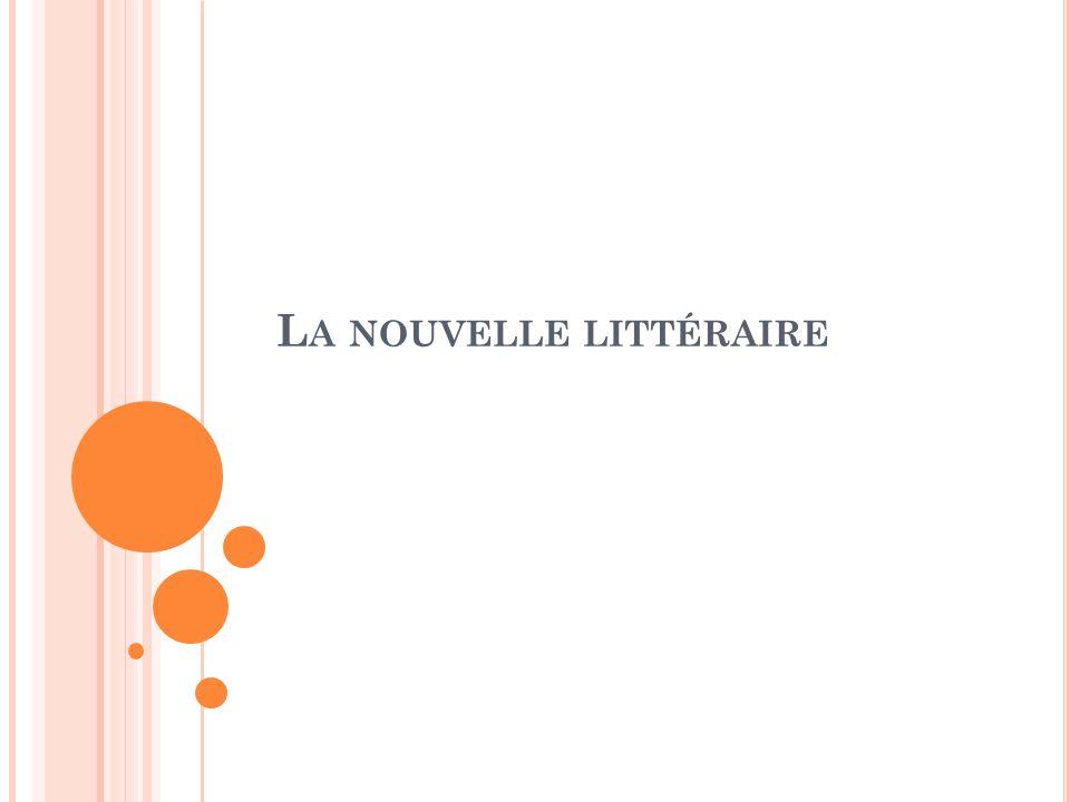 La nouvelle littéraire