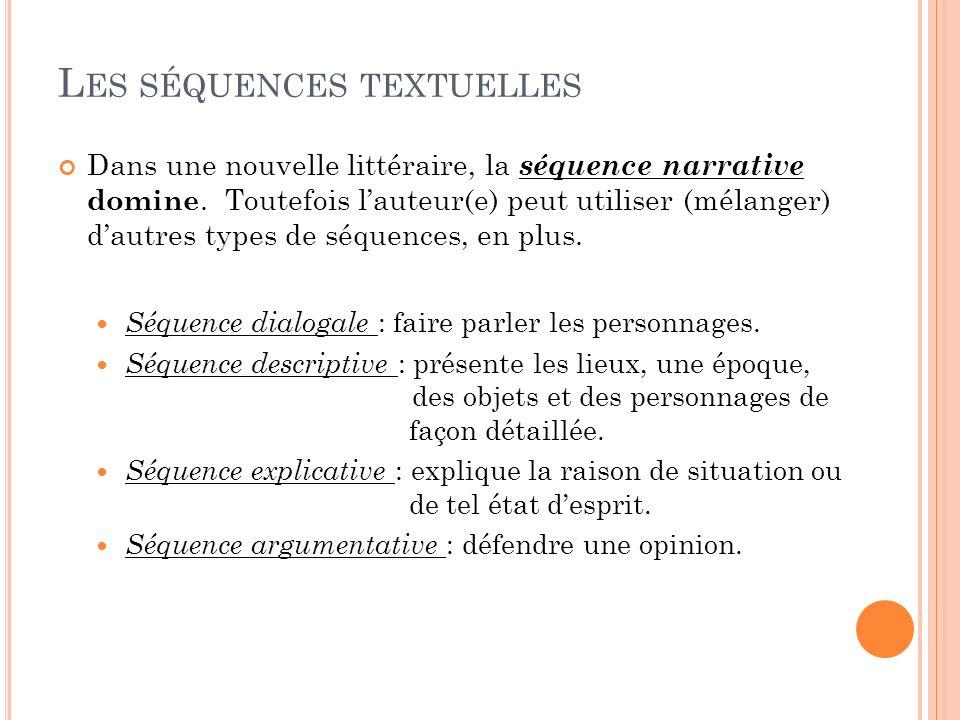 Les séquences textuelles