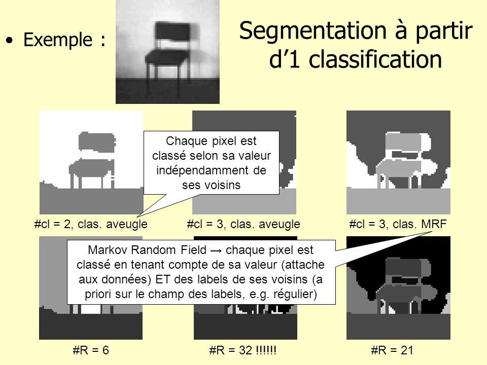 Segmentation à partir d'1 classification
