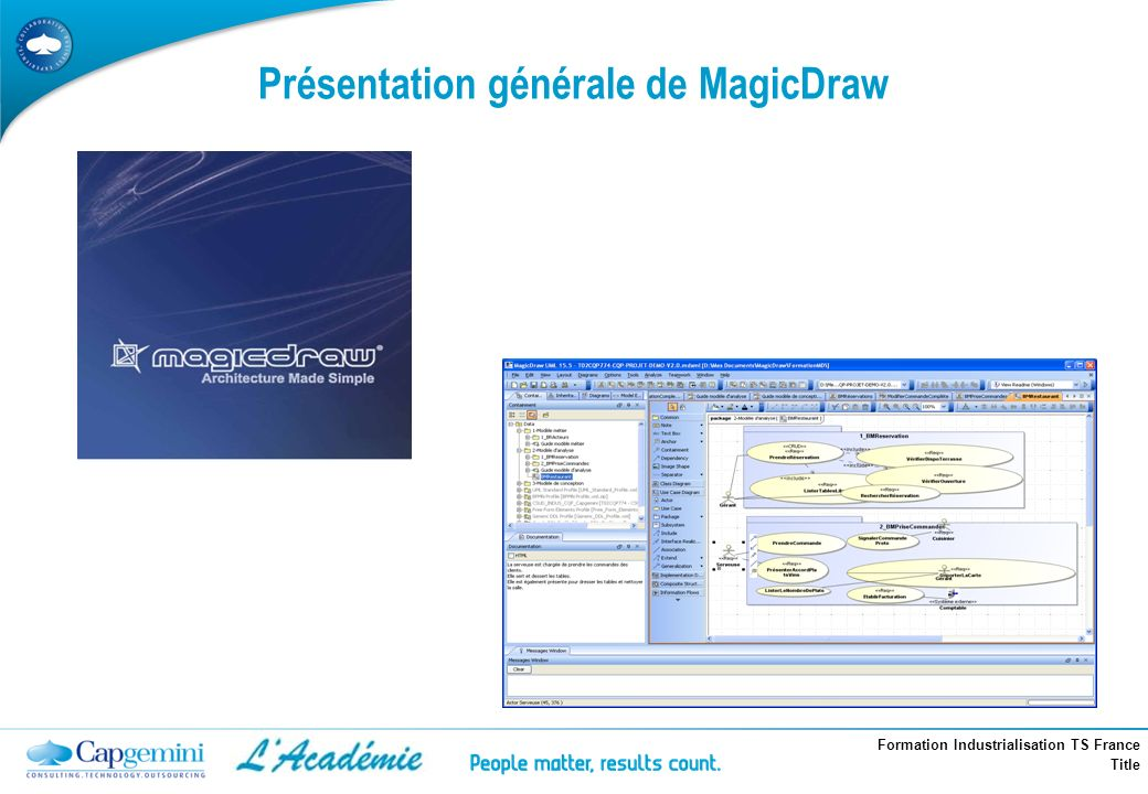 Présentation générale de MagicDraw