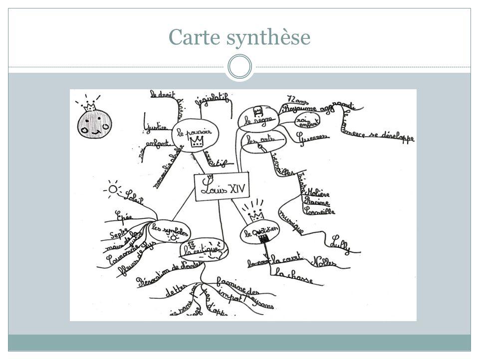 Carte synthèse