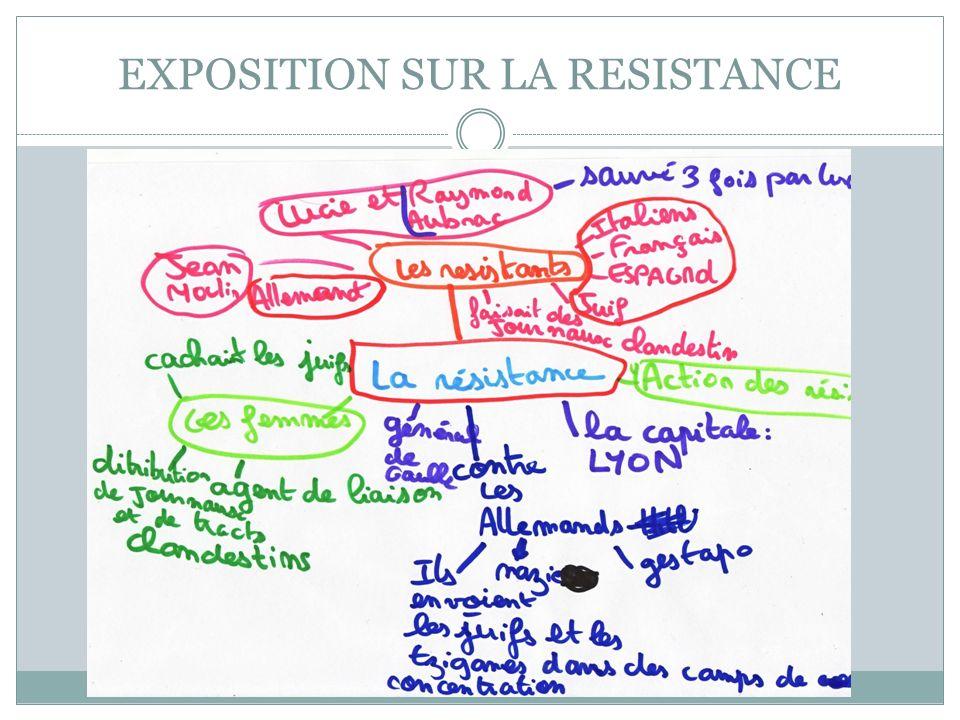 EXPOSITION SUR LA RESISTANCE