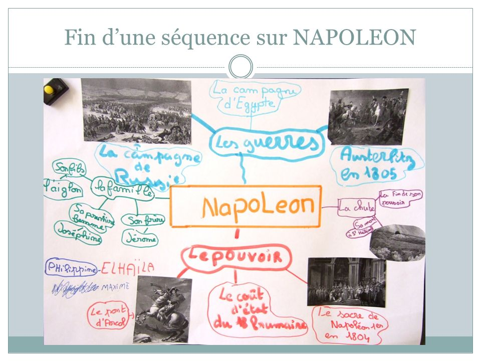Fin d'une séquence sur NAPOLEON