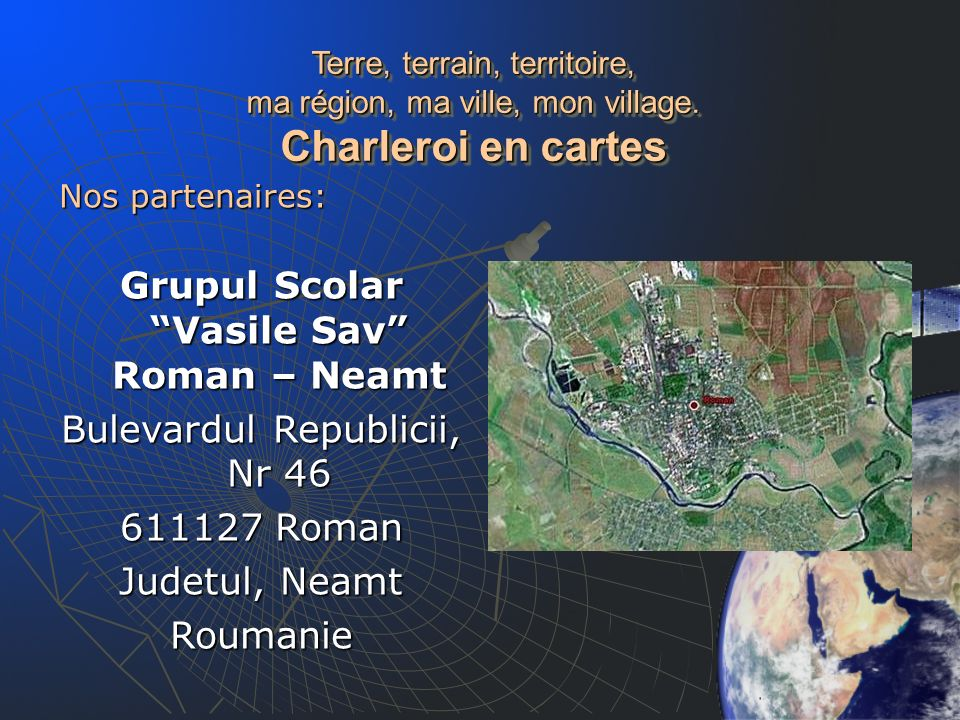 Grupul Scolar Vasile Sav Roman – Neamt