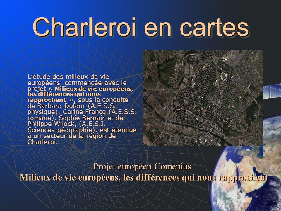 Charleroi en cartes