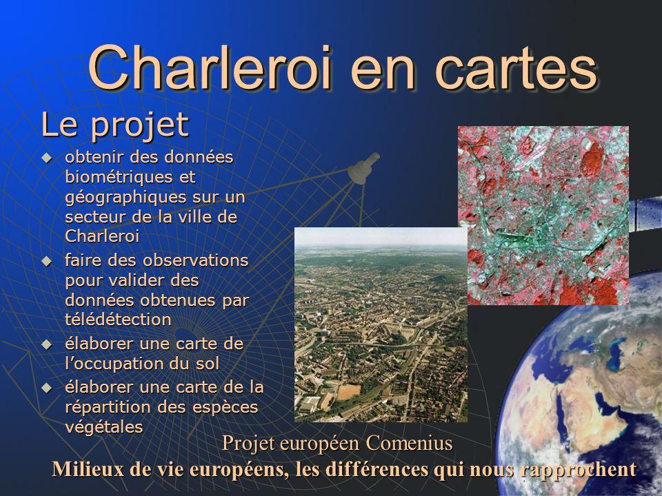 Charleroi en cartes Le projet