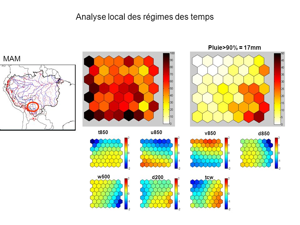 Analyse local des régimes des temps
