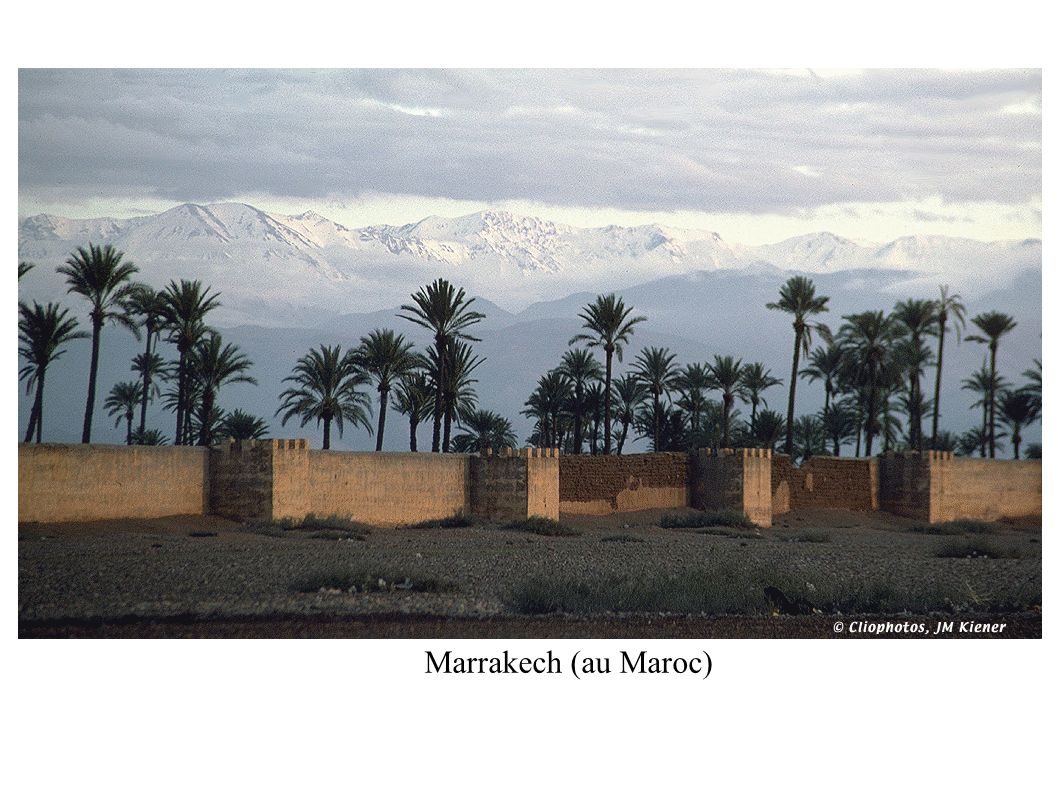 Marrakech (au Maroc)