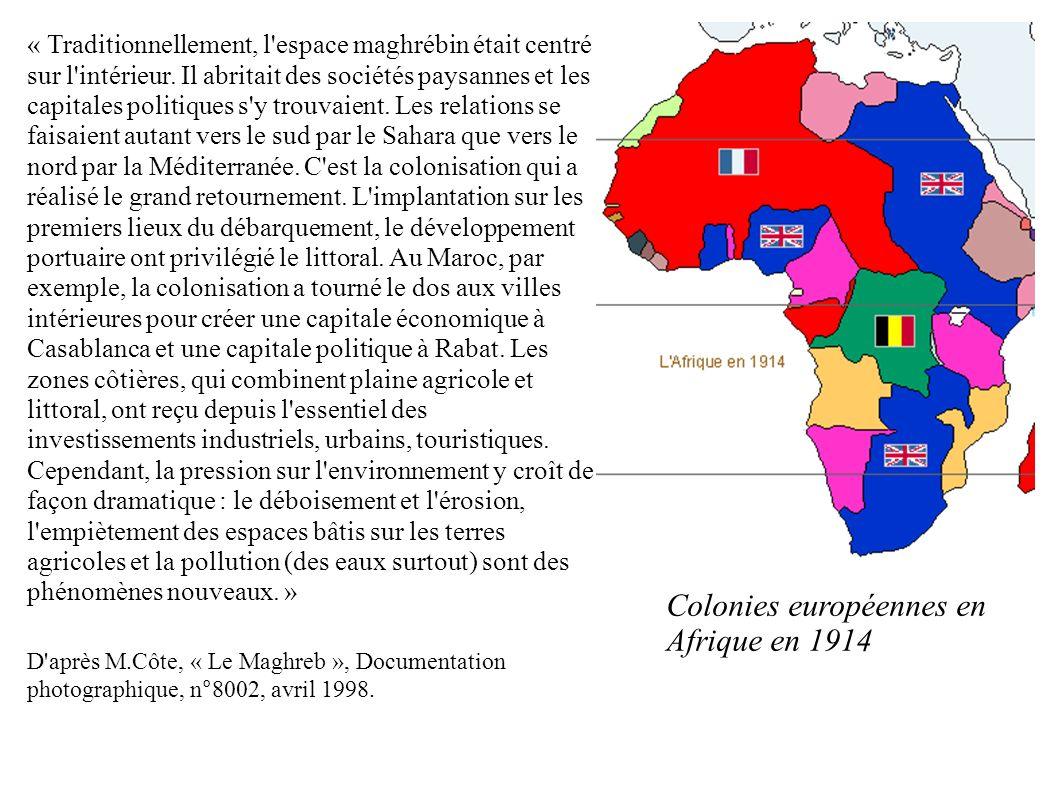 Colonies européennes en Afrique en 1914