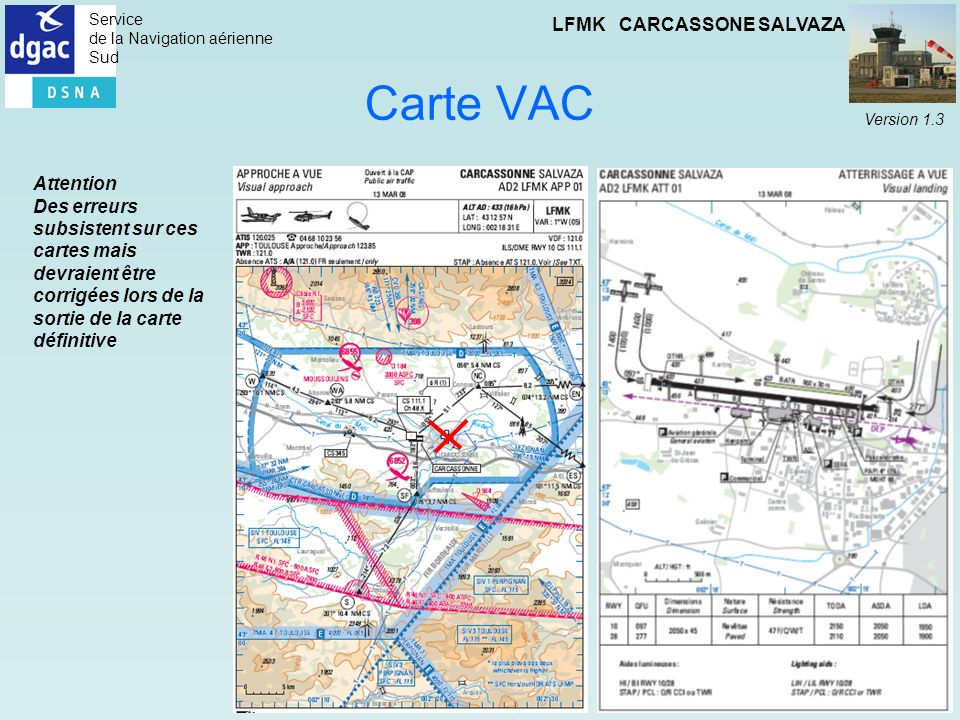 Carte VAC Attention.