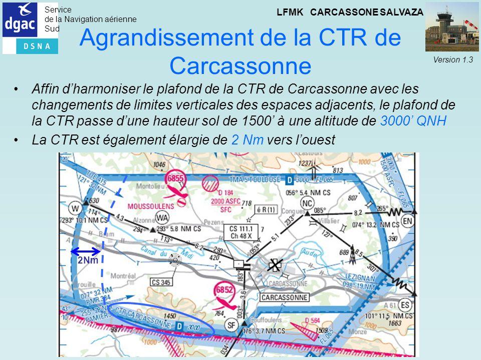 Agrandissement de la CTR de Carcassonne