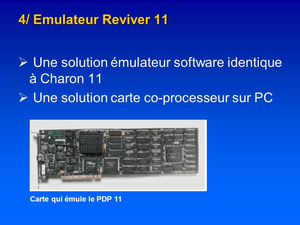 Une solution émulateur software identique à Charon 11