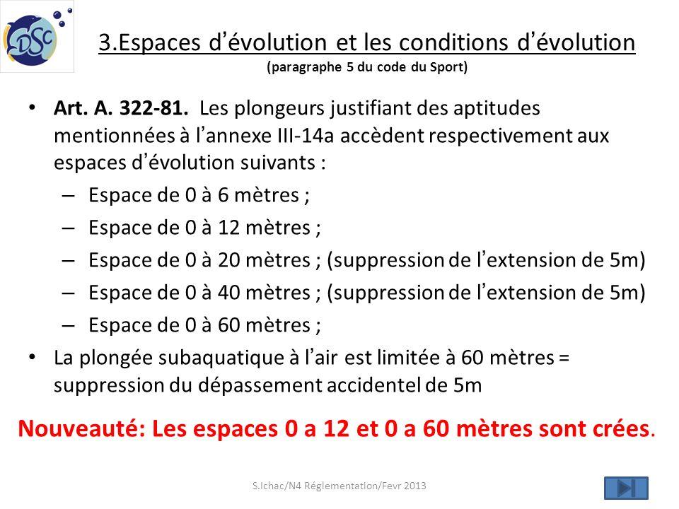 S.Ichac/N4 Réglementation/Fevr 2013