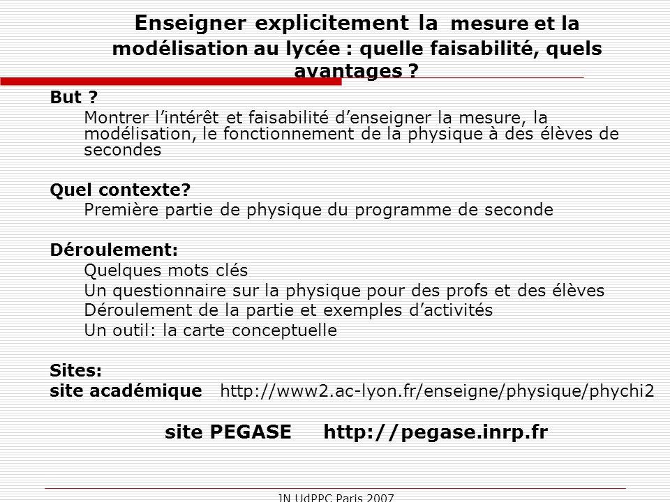 site PEGASE http://pegase.inrp.fr