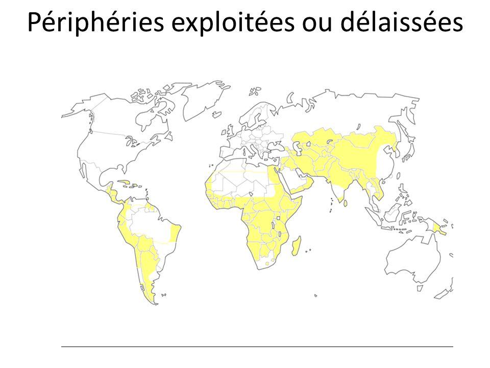 Périphéries exploitées ou délaissées