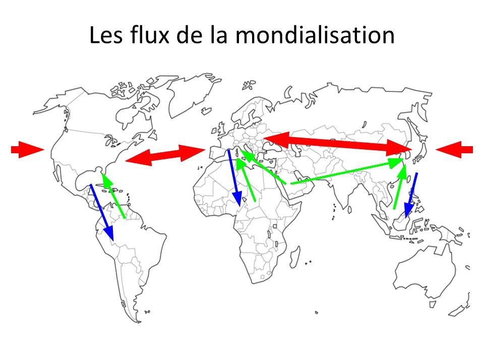 Les flux de la mondialisation