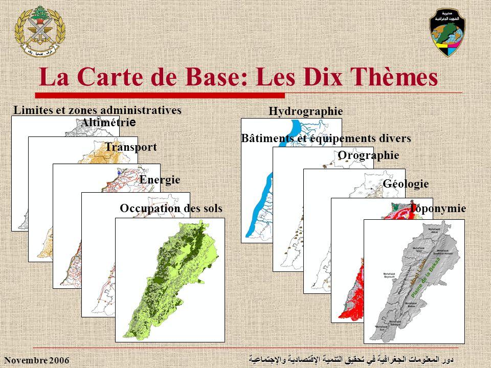 La Carte de Base: Les Dix Thèmes