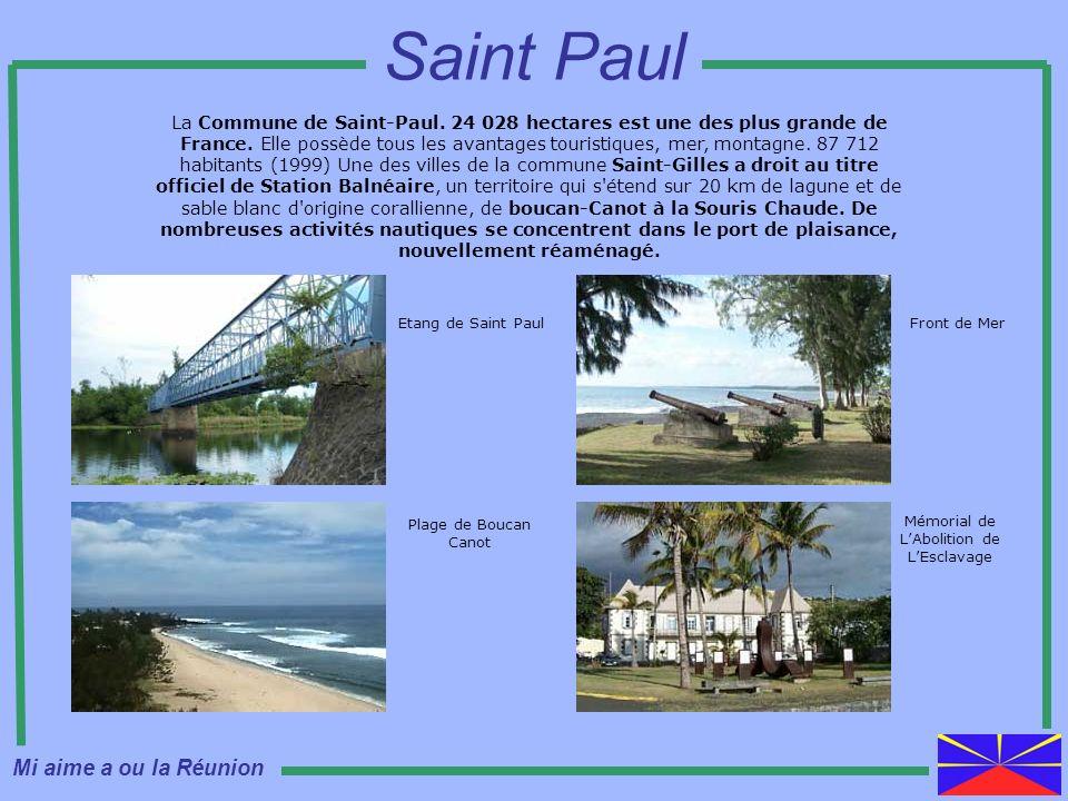 Saint Paul Mi aime a ou la Réunion