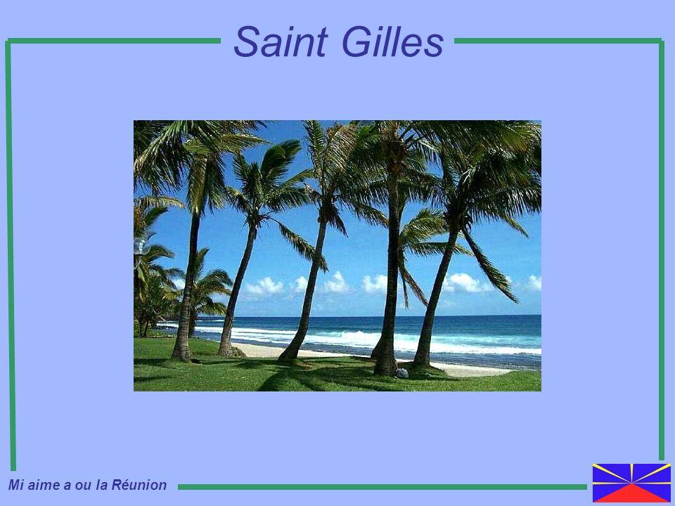Saint Gilles Mi aime a ou la Réunion