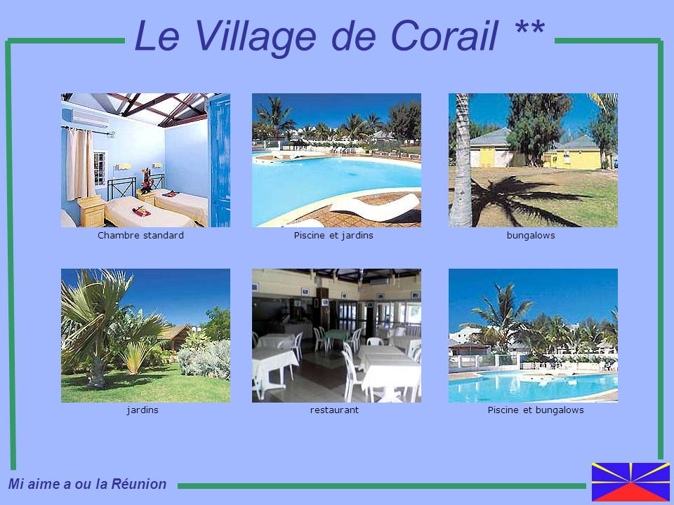 Le Village de Corail ** Mi aime a ou la Réunion Chambre standard