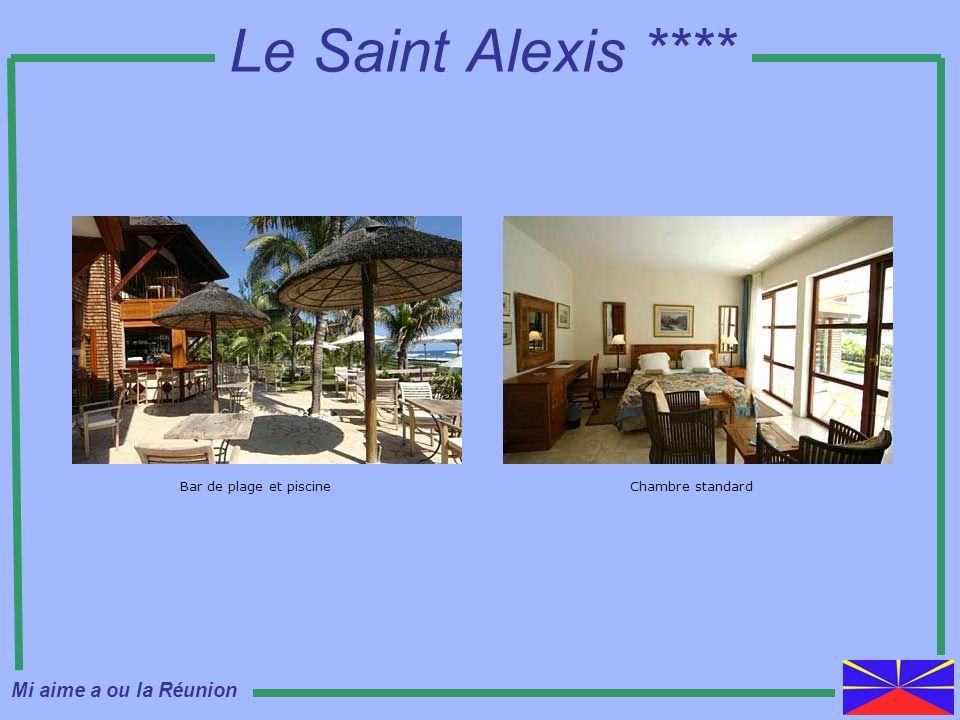 Le Saint Alexis **** Mi aime a ou la Réunion Bar de plage et piscine