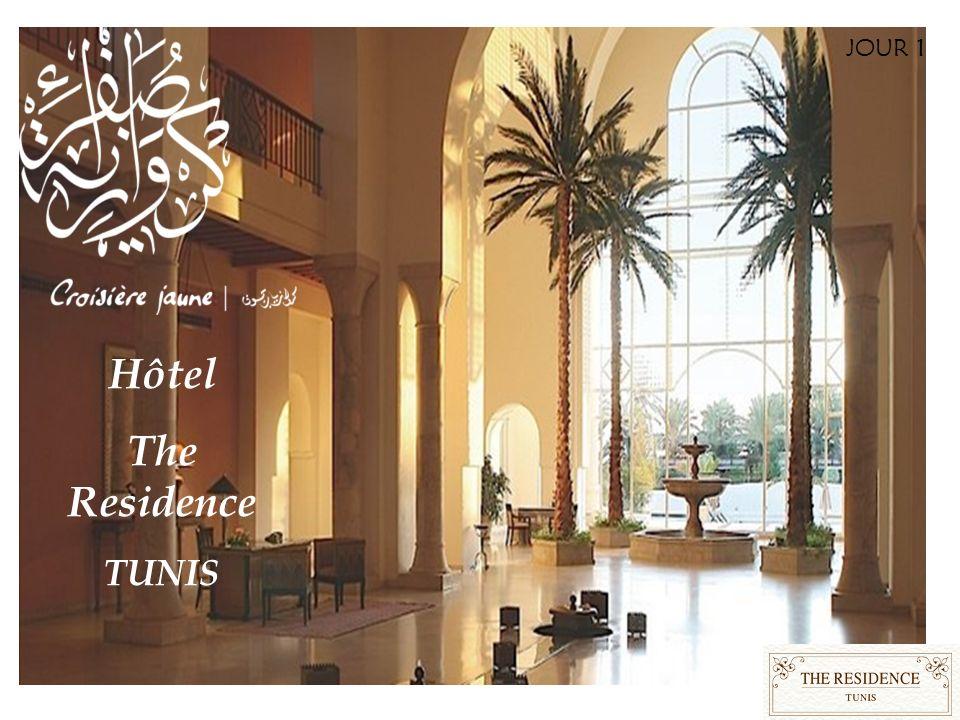 JOUR 1 Hôtel The Residence TUNIS
