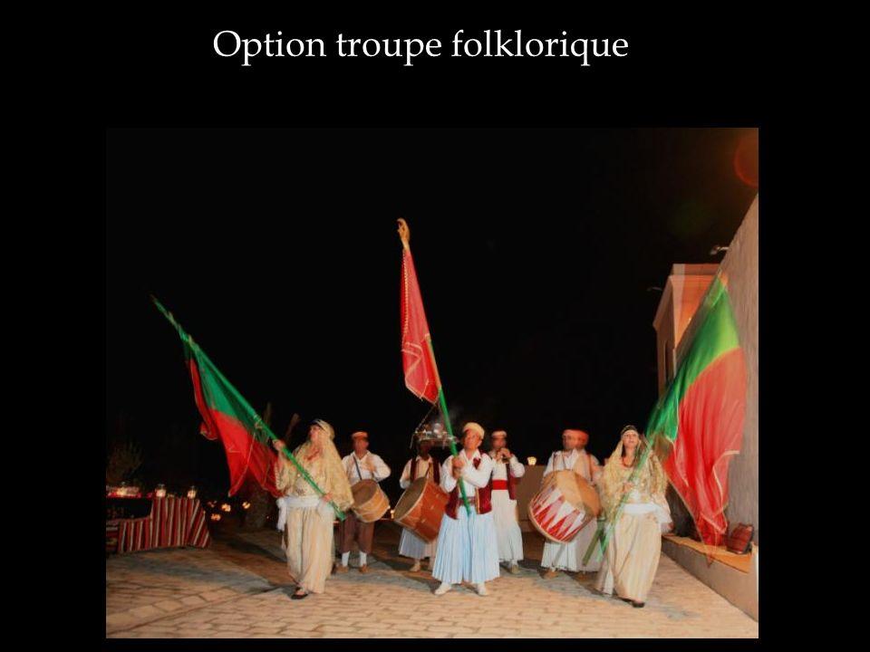 Option troupe folklorique