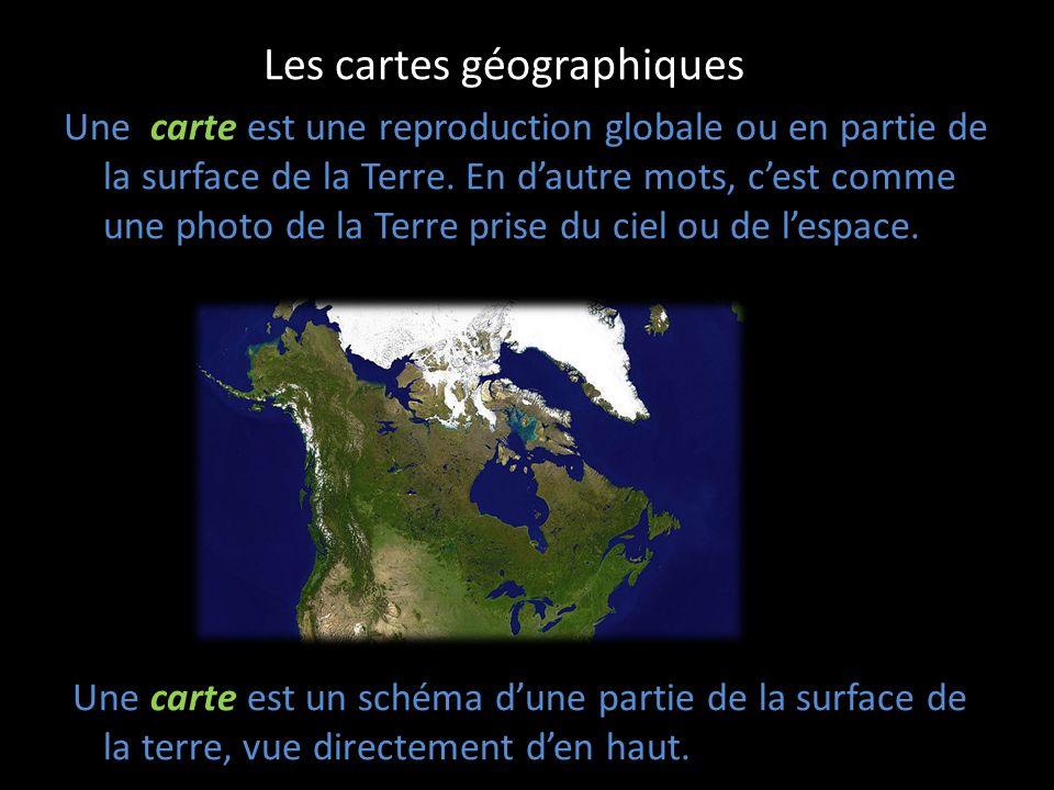Les cartes géographiques