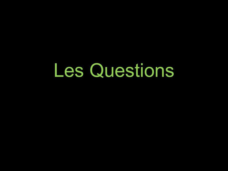 Les Questions