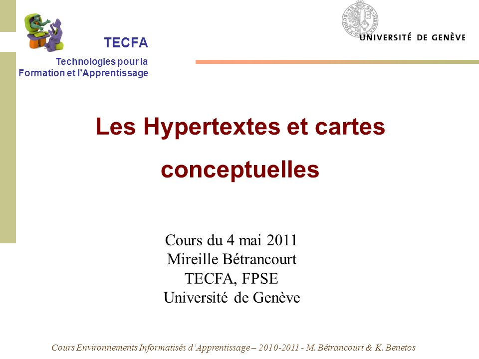 Les Hypertextes et cartes conceptuelles