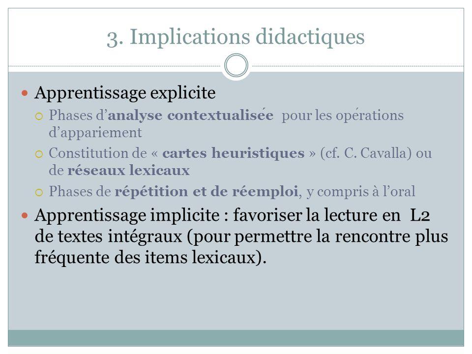 3. Implications didactiques