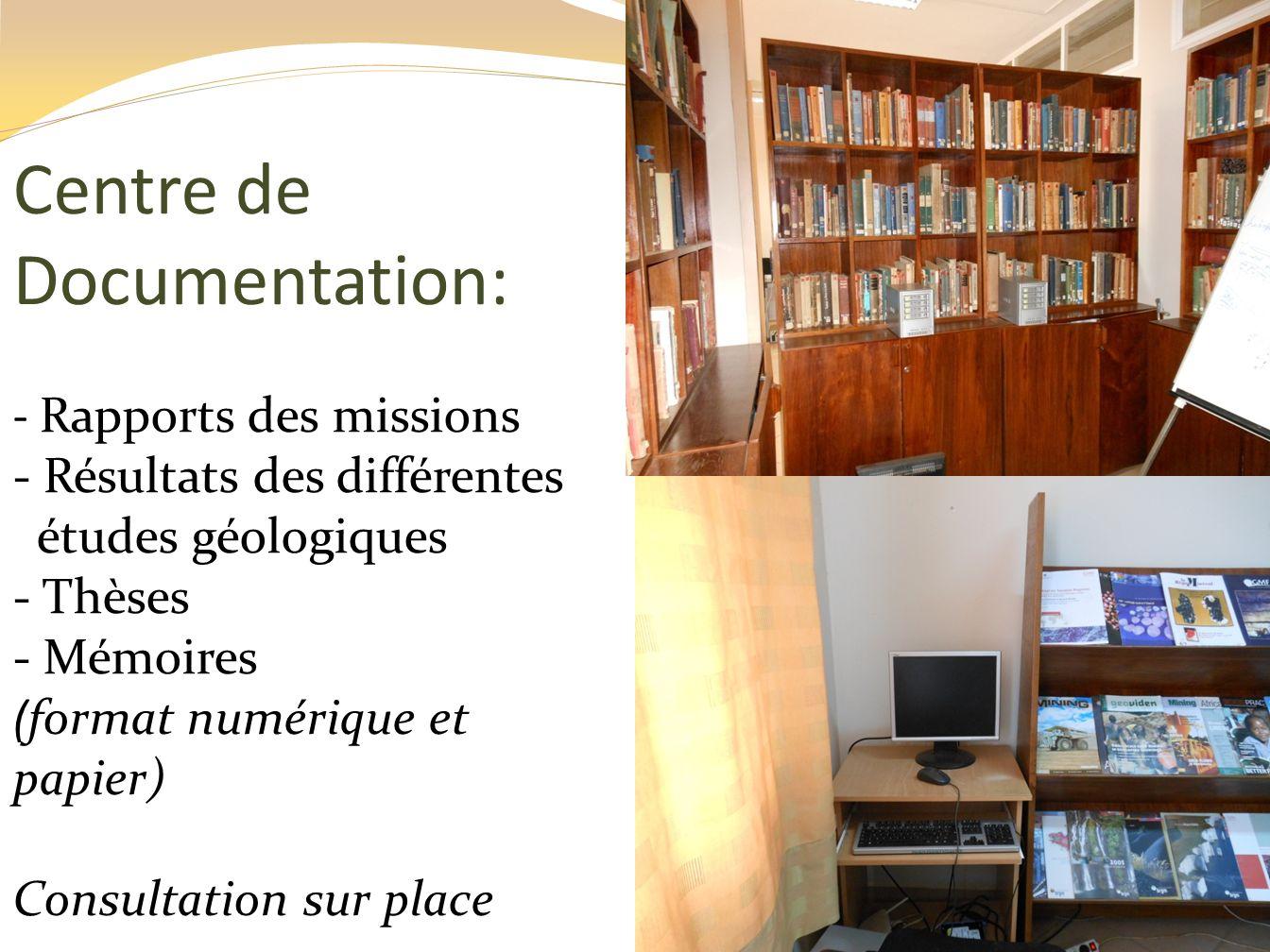 Centre de Documentation: