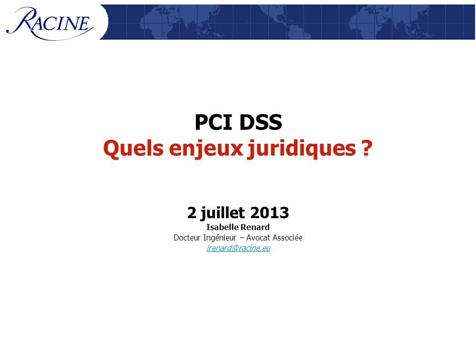 PCI DSS Quels enjeux juridiques