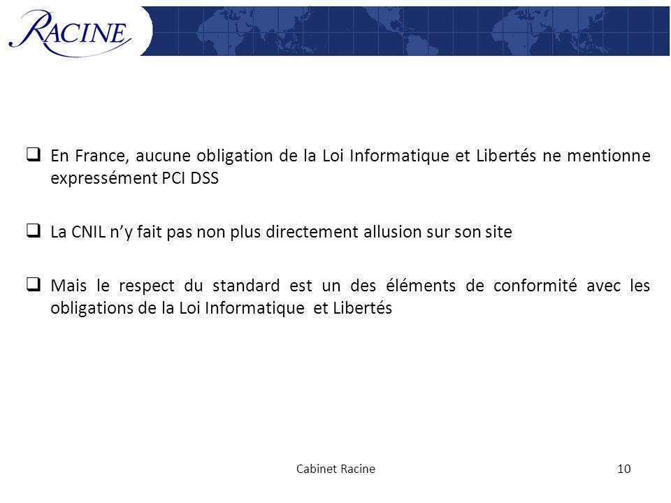 La CNIL n'y fait pas non plus directement allusion sur son site