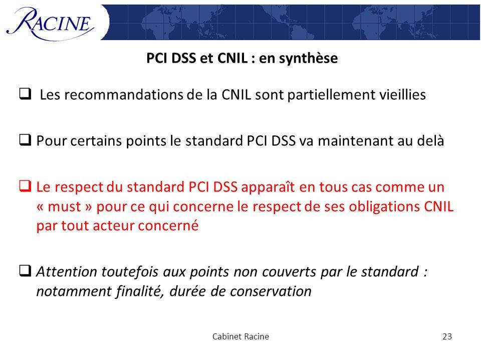 PCI DSS et CNIL : en synthèse