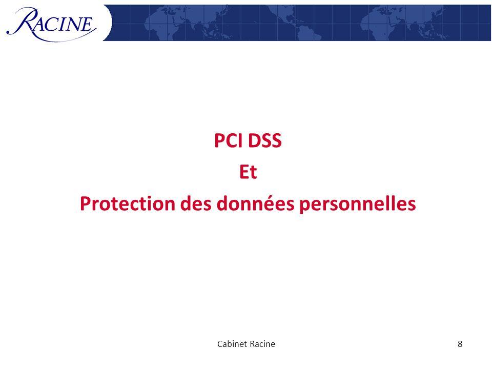 PCI DSS Et Protection des données personnelles