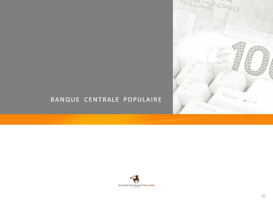 BANQUE CENTRALE POPULAIRE