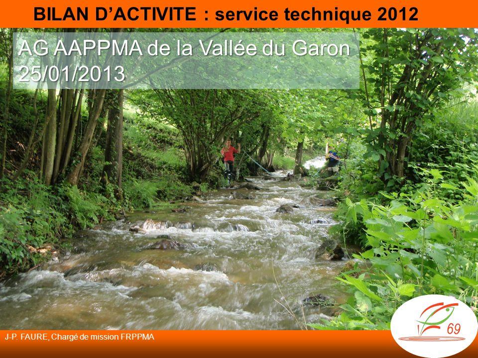 AG AAPPMA de la Vallée du Garon 25/01/2013