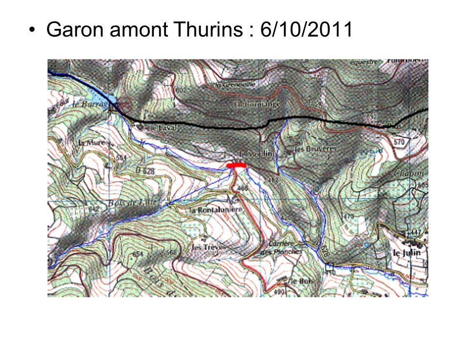 Garon amont Thurins : 6/10/2011