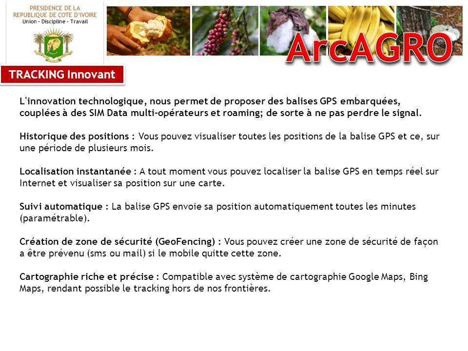 ArcAGRO TRACKING Innovant