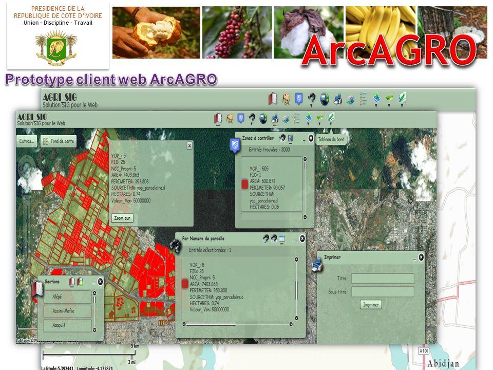 ArcAGRO Prototype client web ArcAGRO