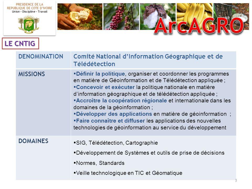 ArcAGRO LE CNTIG DENOMINATION