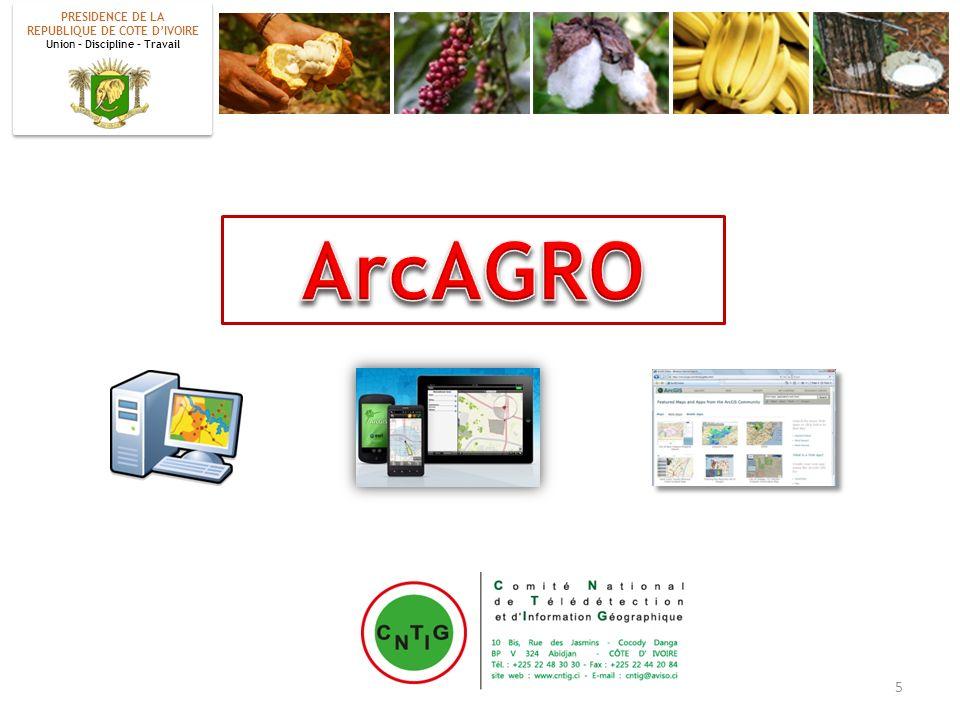 ArcAGRO PRESIDENCE DE LA REPUBLIQUE DE COTE D'IVOIRE