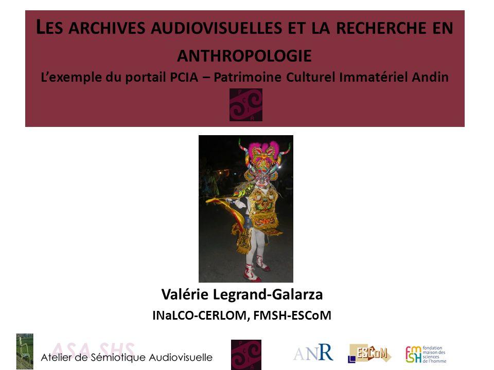 Valérie Legrand‐Galarza INaLCO‐CERLOM, FMSH-ESCoM
